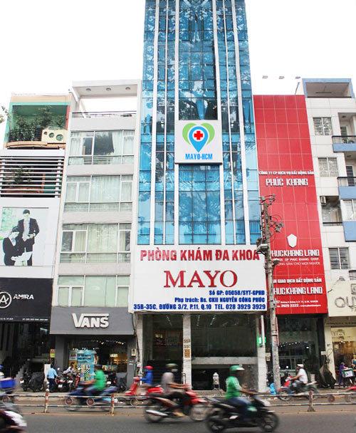 Mayo - phòng khám nam khoa ở TP.HCM