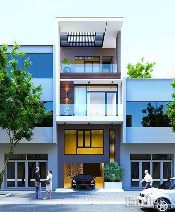 Thiết kế xây nhà 66m2 kinh phí 826 triệu đồng đẹp như mơ