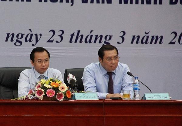 Đà Nẵng, ủy ban kiểm tra trung ương, kỷ luật, Nguyễn Xuân Anh, Huỳnh Đức Thơ, Chủ tịch Đà Nẵng