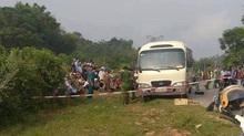 Nữ sinh lớp 11 bị ô tô cuốn vào gầm tử vong
