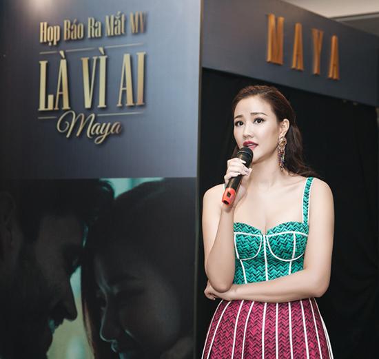 Maya, ca sĩ Maya, âm nhạc, làng sao