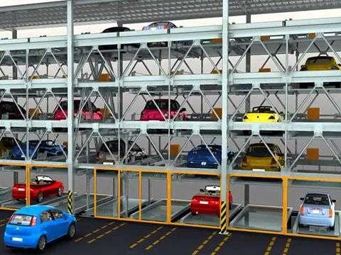 TP.HCM: Sẽ có hệ thống đỗ xe ô tô tự động