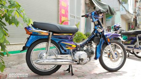 Dân chơi Hà Nội độ Honda Dream Thái 50 triệu đồng