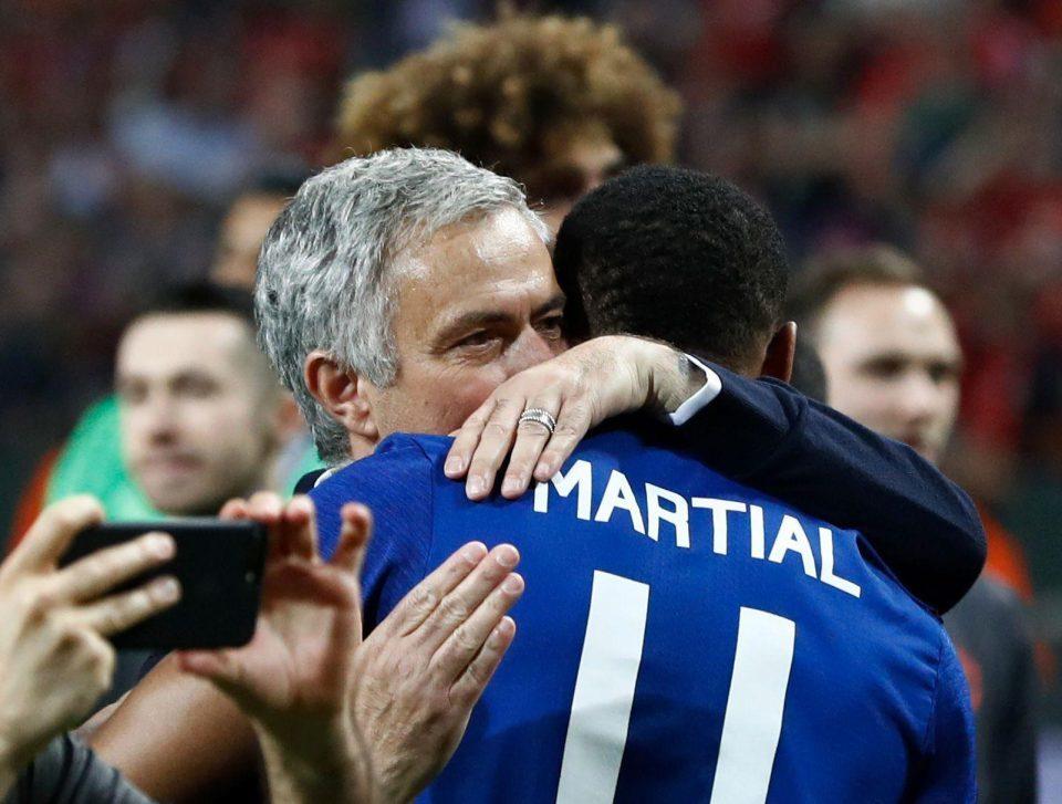 MU, Mourinho, Martial