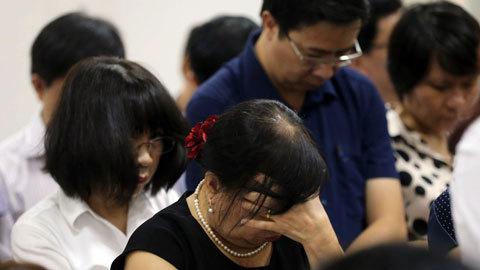 Đại án Oceanbank: Những giọt nước mắt tuôn rơi
