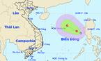 Áp thấp nhiệt đới giật cấp 8 hướng vào nước ta