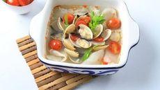 Hãy bắt đầu giảm cân từ hải sản với nguyên liệu là nghêu
