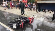 Sinh viên tử vong sau va chạm với xe container