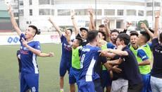 Giải phủi quy mô tại Hà Nội tìm ra nhà vô địch