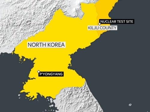 Động đất ở Triều Tiên, nghi thử hạt nhân