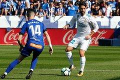 """Ronaldo """"mất tích"""", Real thắng """"rùa"""" đội cuối bảng"""