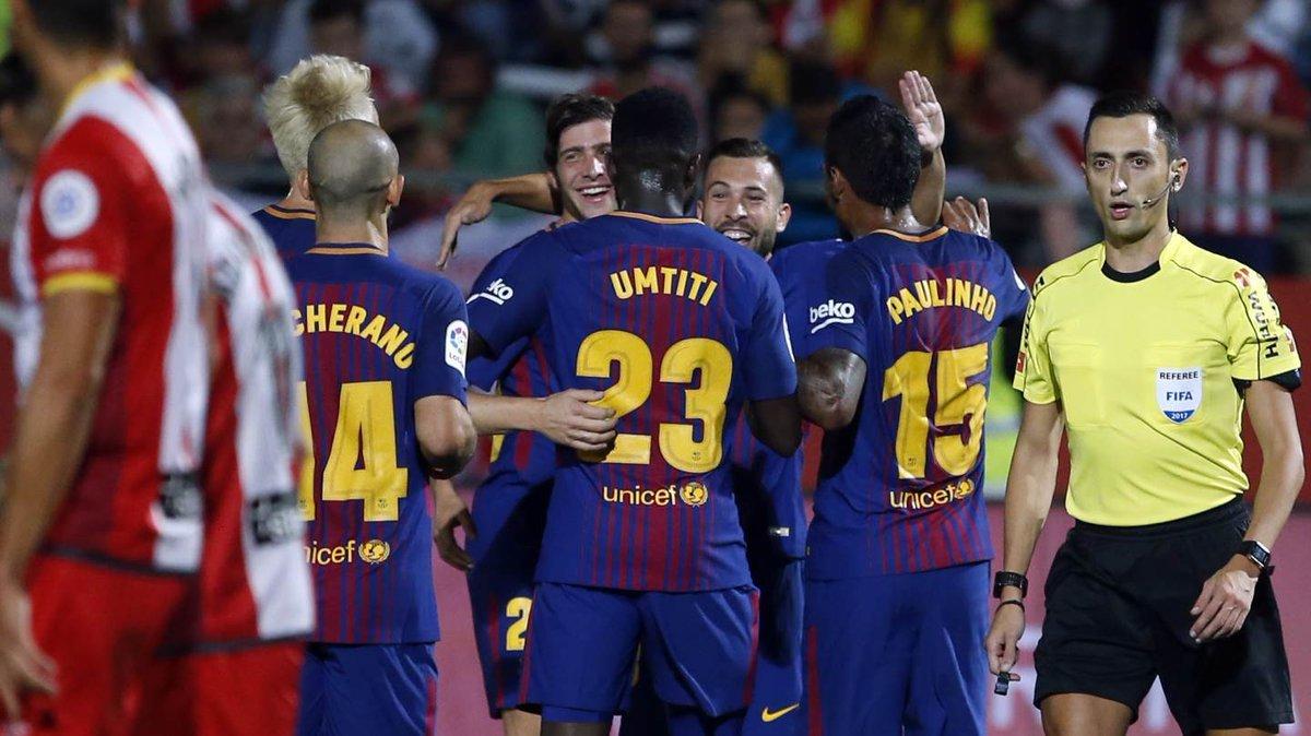 Barca, Girona, Messi, La Liga