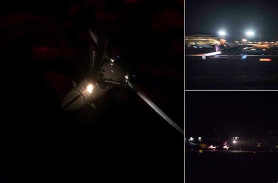 Chiến cơ, máy bay ném bom Mỹ bay sát sạt Triều Tiên