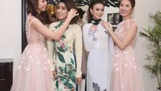Hết bikini, mỹ nhân Miss Photo 2017 diễn áo dài như người mẫu