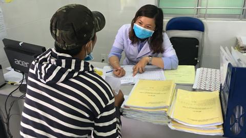 phụ nữ mang thai, Bến Tre, HIV, nhiễm HIV