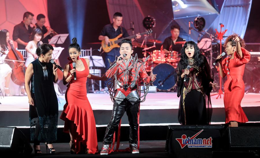 Tùng Dương, Thanh Lam, Hồng Nhung,