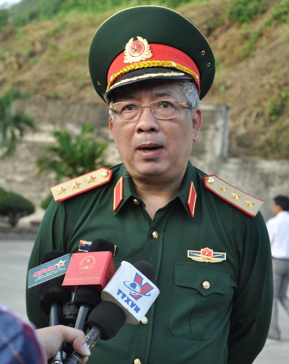 Việt-Trung, giao lưu quốc phòng biên giới, Thứ trưởng Quốc phòng, Nguyễn Chí Vịnh