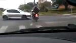 Chạy trốn cảnh sát, xe máy gặp tai nạn khủng khiếp