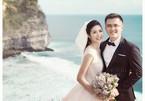 Hoa hậu Ngọc Hân từ chối trả lời về ảnh cưới
