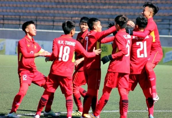 U16 Việt Nam giành vé dự VCK U16 châu Á 2018