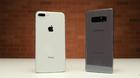 Thả rơi iPhone 8 Plus và Galaxy Note 8: Kết quả bất ngờ