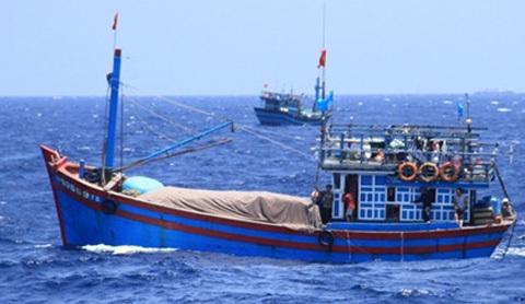 tàu cá, Phú Yên, ngư dân, cảnh sát biển