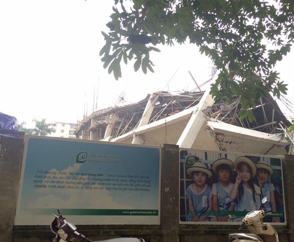Chủ tịch Hà Nội yêu cầu báo cáo vụ sập trường mầm non
