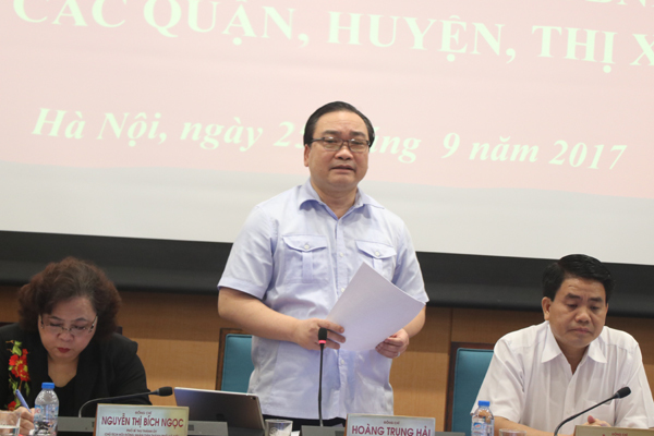 phòng cháy chữa cháy, Bí thư Hà Nội, Hoàng Trung Hải, chung cư