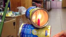 Mẹo làm đèn lon chơi Trung thu
