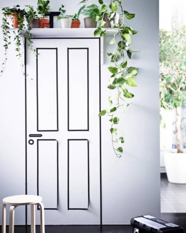 Đừng kêu nhà chật khi bạn đang bỏ phí khoảng diện tích phía trên cửa ra vào