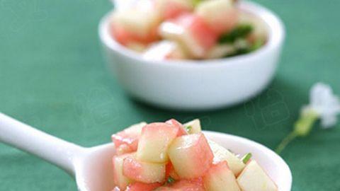 Mách bạn những món ăn giảm cân thú vị từ vỏ dưa hấu