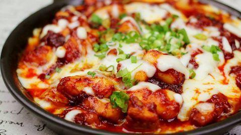 Gà nướng phô mai - món ngon ăn vặt hot nhất hiện nay