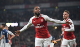 Lacazette bừng sáng, Arsenal thắng dễ West Brom