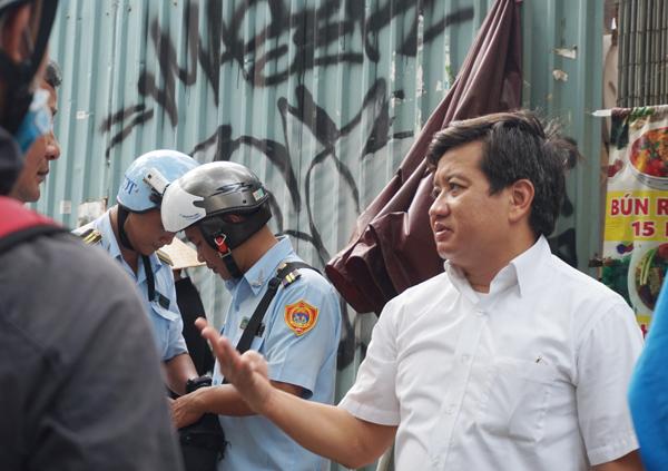 Ông Đoàn Ngọc Hải 'phản pháo' ý kiến xe đoàn kiểm tra gây kẹt xe