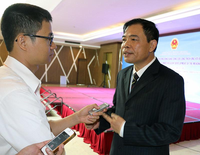 Biến đổi khí hậu, ĐBSCL, Bộ trưởng Nguyễn Xuân Cường, hạn mặn