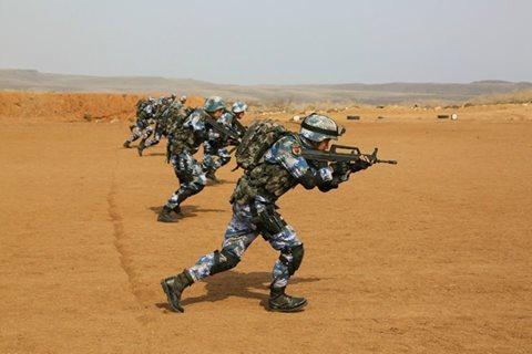 Trung Quốc tập trận bắn đạn thật tại căn cứ hải ngoại