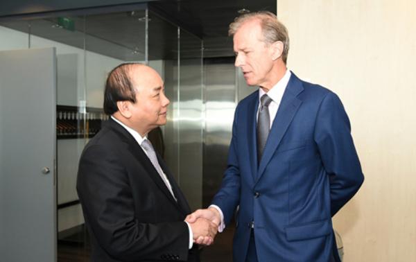 Thủ tướng, Nguyễn Xuân Phúc, biến đổi khí hậu, nước biển dâng, xâm nhập mặn, đồng bằng sông Cửu Long