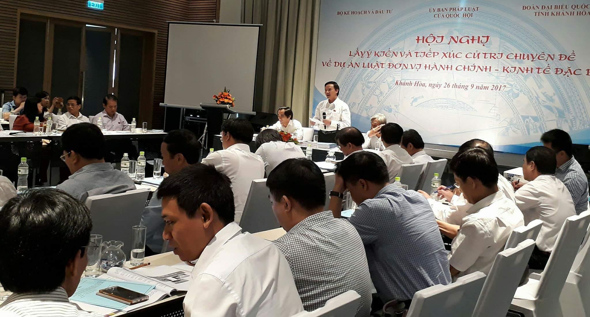 Đặc khu kinh tế, Khánh Hòa, Bộ Nội vụ, Thứ trưởng Nội vụ Trần Anh Tuấn