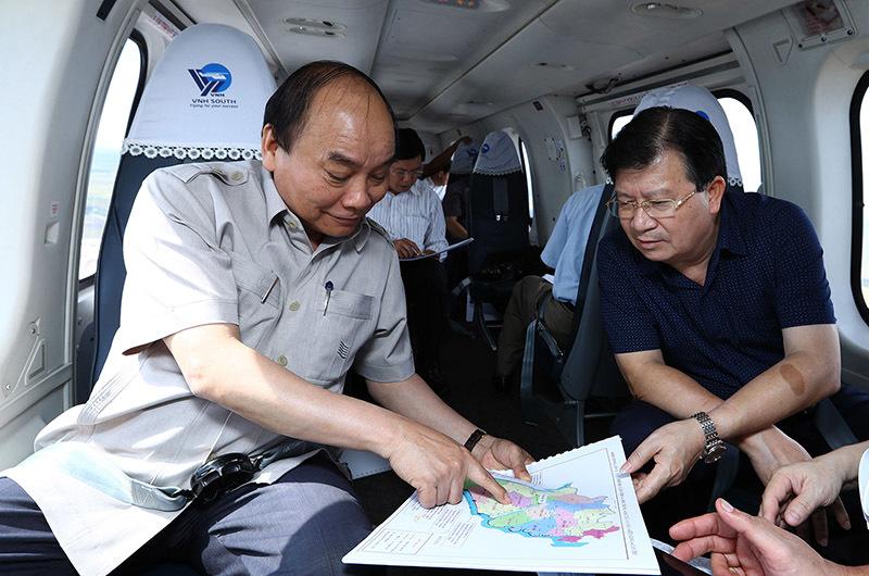 Thủ tướng Nguyễn Xuân Phúc, Nguyễn Xuân Phúc, biến đổi khí hậu, nước biển dâng, xâm nhập mặn, đồng bằng sông Cửu Long