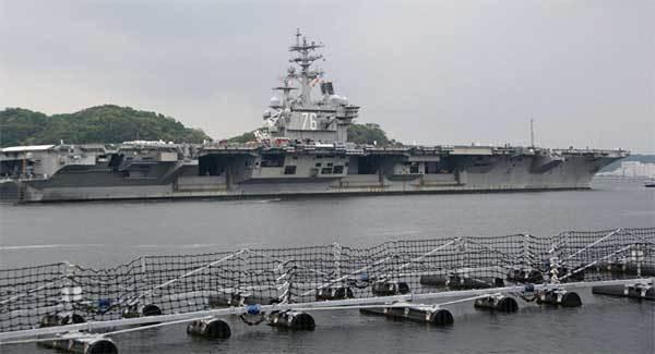 siêu tàu sân bay, USS Ronald Reagan, tập trận, Bán đảo Triều Tiên, tin Triều Tiên mới nhất