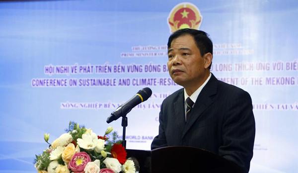 Thủ tướng,Nguyễn Xuân Phúc,Nguyễn Chí Dũng,Nguyễn Xuân Cường,Trần Hồng Hà,biến đổi khí hậu,đồng bằng sông Cửu Long