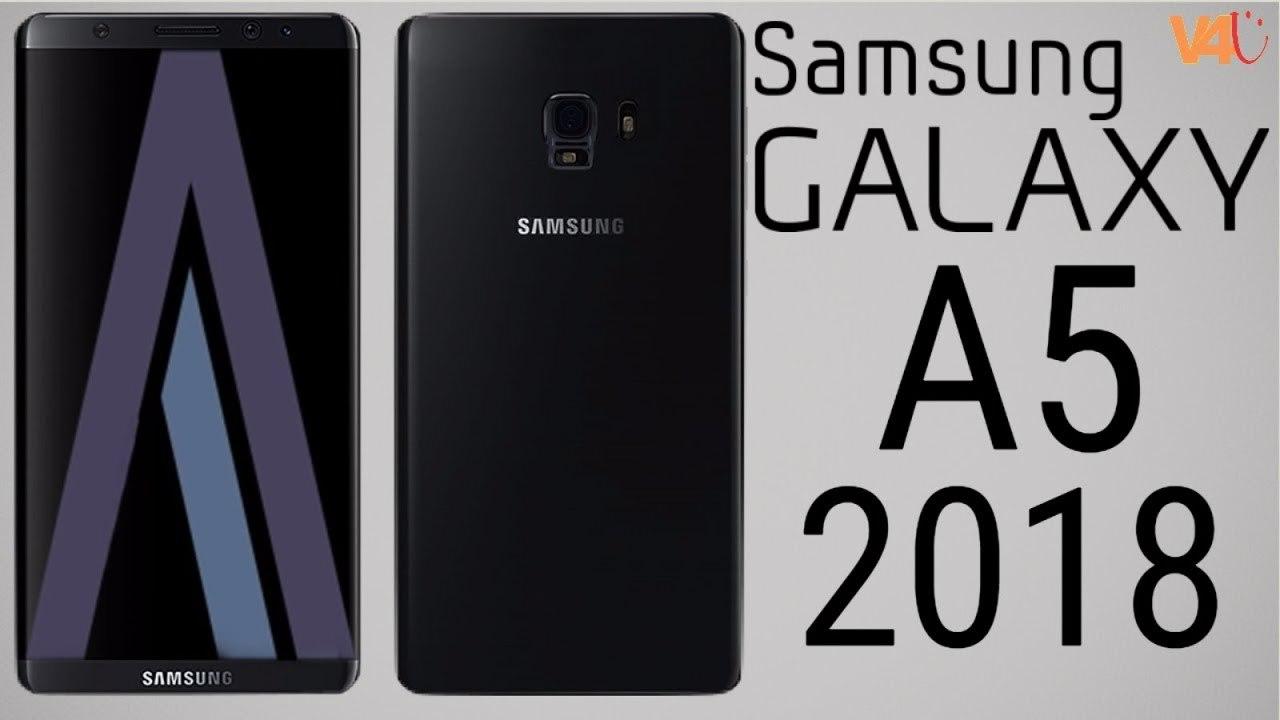 Galaxy A5 2018 có cảm biến vân tay đặt sát camera