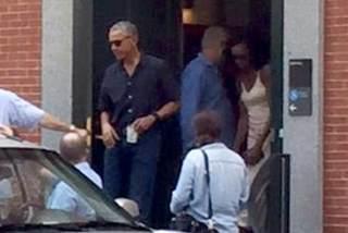 Obama khóc trước mặt mật vụ
