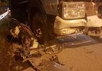 Xe tải chở rác đâm liên hoàn, 1 người lái xe ôm tử vong