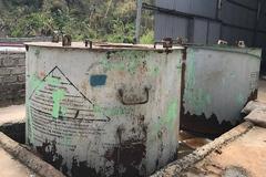 Kho hóa chất 'Made in China' chứa chất tẩy rửa