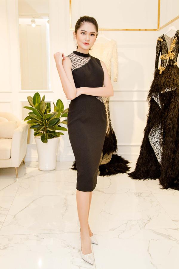 Trang phục gợi cảm của Á hậu Thuỳ Dung tại Hoa hậu quốc tế 2017