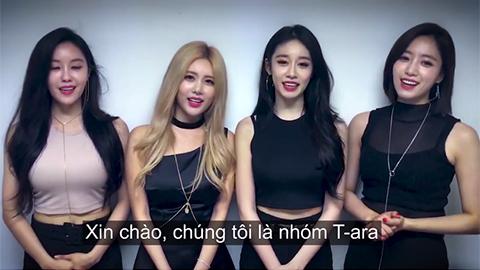 T-ara trở lại tổ chức concert đình đám ở Việt Nam