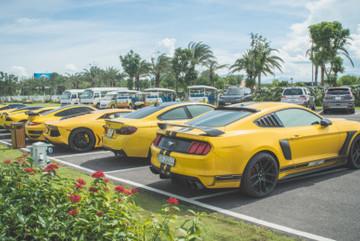 Choáng ngợp trước dàn siêu xe 'biển khủng' hội tụ tại Nha Trang