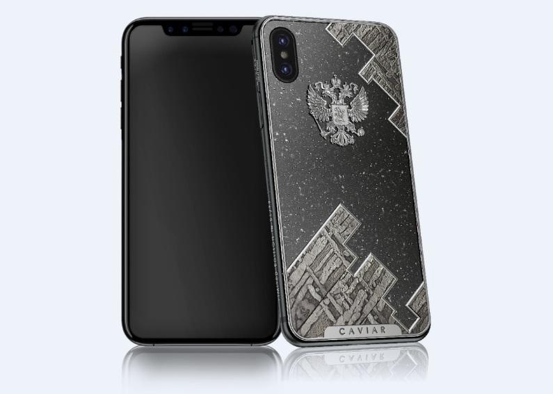 iPhone X gắn đá thiên thạch có giá hàng trăm triệu đồng