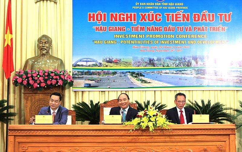 Thủ tướng Nguyễn Xuân Phúc, Hậu Giang, Thủ tướng